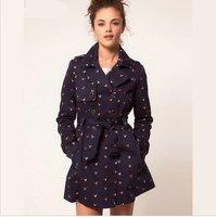 haoduoyi-001 женщин блейзеры Мода бренда пальто куртка, Леди плюс размер xxl 7 рукав твердых костюмы