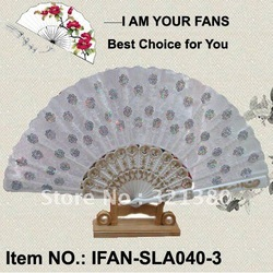 [I AM YOUR FANS] Free Shipping 80pcs/lot spanish hand fan&embroidery design/assorted design is welcome(China (Mainland))