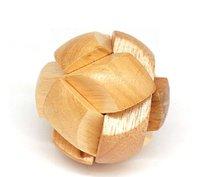 Soccer Block Wood Construction  Toy Brain Teaser