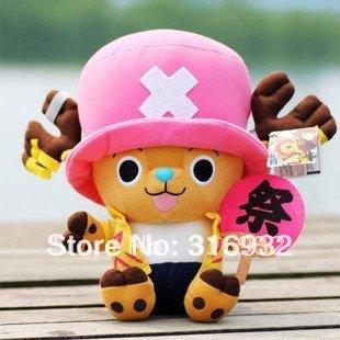 J1 Free Shipping! plush chopper plush one piece toy, 30cm,1pc