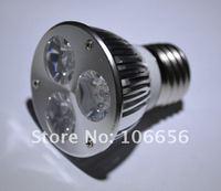 E27/Mr16/GU10 3*3w 6w 9w LED spotlight bulb Bridgelux chip 45mil wholesale factory price 50pcs/lot free shipping DHL