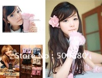 Wholesale - Fashion Women Rabbit Fur Hand Wrist Warmer Winter Fingerless Gloves
