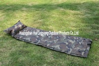 Camouflage nine holes inflatable mat