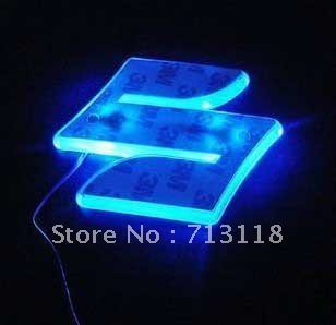 Car Logo LED Light For Suzuki , Car Emblem Light , Rear Lights, Free shipping