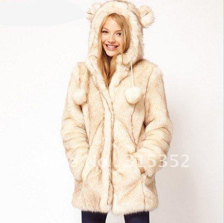 Women Faux Fur Coat