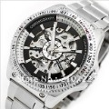 Free shipping Wilon Veyron men watch genuine automatic mechanical watches hollow mechanical watches vintage table