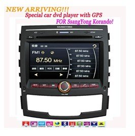 new arriva!!CS-MB001 SPECIAL Car DVD PLAYER With GPS FOR Ssangyong Korando ,offer free GPS maps !(China (Mainland))