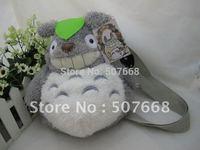 "12"" Totoro Plush Backpack Bags Children School Backpack Stuffed Plush Bags Plush Toys Bag"