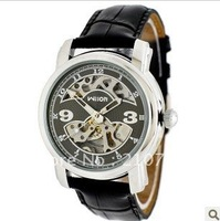 Free shipping Men&#39;s watches of the Veyron wilon sided hollow mechanical watches, belts male table genuine automatic machinery