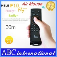 Free Shipping Mele F10 Flying Mouse Air Mouse And Keyboard Remote Controller Three In One For Android TV Set Top Box Use