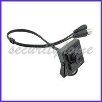 Mini 420TVL Sharp CCD 6mm Button Lens Surveillance CCTV Color Camera