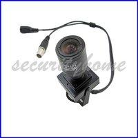 Sharp CCD Mini Indoor Manual 2.8mm-12mm Lens Surveillance CCTV Camera