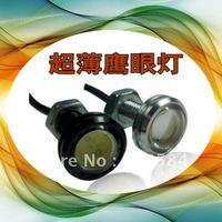 High power 9W IP68 car led light eagle eye lamp Screw led car reversing light led DRL daytime running light