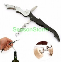 [CPAP Free Shipping] Wholesale  Stainless Steel Wine Corkscrew / High Quality Bottle Opener (SX-126P)