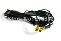 New 3M WiFi Antenna RP-SMA Extension Cable for Wi-Fi Router Wireless Adapter free shipping