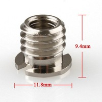 "1/4"" to 3/8"" Convert Screw Adapter for Tripod Monopod Ball Head"