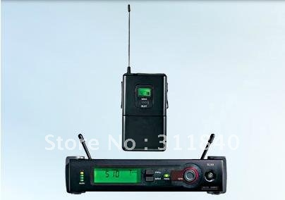 Free shipping SLX14 WH30 WL93 System professional Wireless Microphone headset set (skin/black)