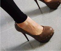 Fashion Platform Shoes Ladies High Heel Dress Shoes Evening Shoes Women Pumps Wholesale