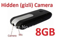 Novelty,Mini DVR U8,hidden camera,U disk,world debut mini camera mini DVR (USB Gizli Kamera) (FREE SHIPPING)