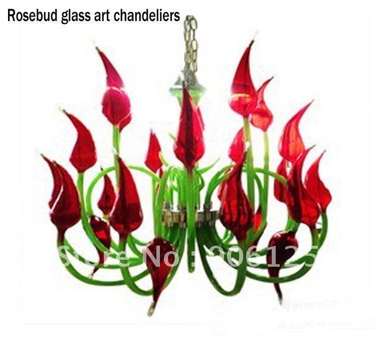 Wholesale murano glass Buy China Wholesale murano glass from – Red Murano Glass Chandelier