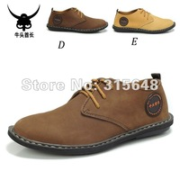 Brand Men shoes fashion Leather shoes free shipping
