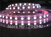 DC12V Waterproof Flexible 30Leds/Meter, 150Leds per PCS 5M/PCS 3528 RGB LED Strip light 10PCS/Lot Free shipping by EMS/DHL/UPS