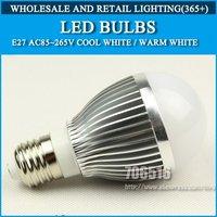 5pcs/lot 5w LED Bulbs AC85-265V Warm White/Cool White led lamps lights bulb Free shipping