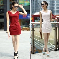 2013 new style women dress, girl&#39;s clothing, lady&#39;s garment, 12 colors, 6 sizes, to slim your body,  free shipping