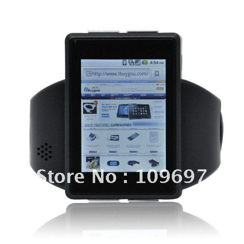 2012 moda sport design android guardi il telefono mobile +gps+wifi+bluetooth+8gb carta di memoria +dhl libero shiping