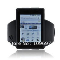 2012 fashion sport design android watch mobile phone +GPS+WIFI+BLUETOOTH+8GB MEMORY CARD +DHL free shiping
