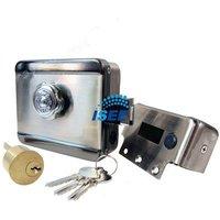 Electric Electronic Door Lock Remote Access Video Intercom Doorphone Deadbolt