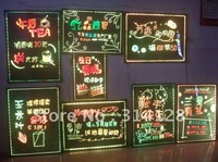 Colorful led fluorescent handwriting board(40*60CM) with remote control/highlighter(5mm)/bracket