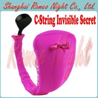 Angel's Gift, 10 Speeds Vibration C-String, Sexy Invisible Underwear, Vibrator T Pants, SexToys For Female