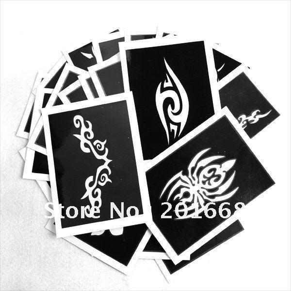 Body tattoo font b template b font hobby artwork tattoo diy font