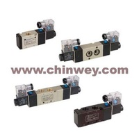 "G3/8"" or G1/4"" 5/2 4V330E-10/08 Solenoid Valve,(double head,double position,exhaust type)"