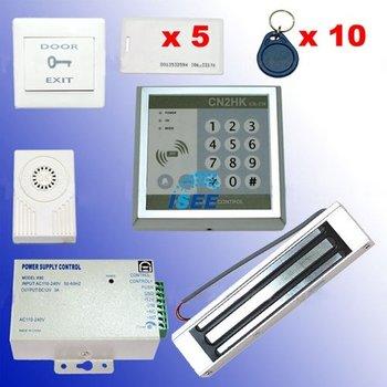 RFID Access Control DIY Full Kit Set - Electric Magnetic Lock 180kg NC Fail Safe