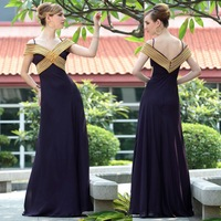 Holiday sale  Special Offer DorisQueen 2012 new design 30658 V-Neck Diamante changeable silk prom Dresses