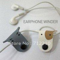 doggie earphone/headphone cable winder