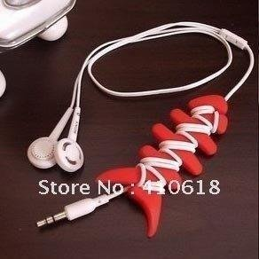 MP3 coiling device fish bones coiling device is imported silicon earphone winding headset line windings