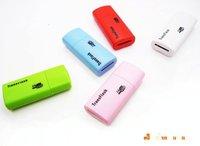 T-flash card reader,mini style,100 pcs/lot 4 colors free shipping