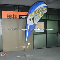 340cm Single side Image Teardrop Banner