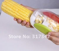 [365+1Days]wholesale-Kitchen Cooking Corn Peeler Stripper Shaver Knife Kernels Cob Remover Cutter Random color 902498-TV130