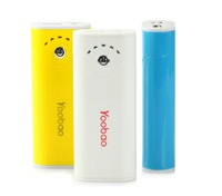 10pcs/lot.Free shipping by DHL Original Yoobao Long March power bank for iphone 4, for ipad 2, for mobile phone, 5200mAh YB-622