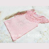 2014 Girls diamond T shirts,4pcs/lot AL223