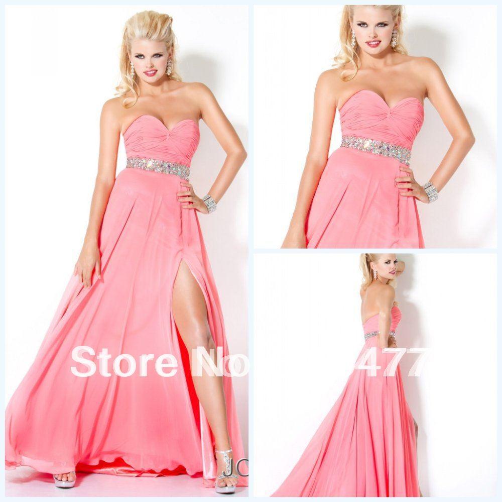 Pink Prom Dresses Long