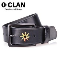 S.C Free Shipping 8 pcs per lot -  Best Sell + Fashion Jean Belt + Wholesale Leather Belts + Western Cowhide Belt