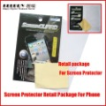 Retail Package for mobile phone screen protector, screen package retail package,no screen protector,use for all mobile model.