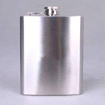 Mini hip liquor alcohol flask 6oz Stainless Steel Hip Flask Pocket Liquor Whiskey Flasks Wine Pot Flagon Free Funnel A1816