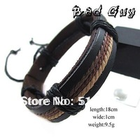 sl296/PU leather bracelet,high quality, fashion casual bracelet,fashion jewelry,wholesale,factory price