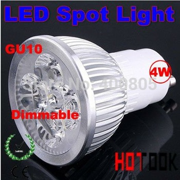 Dropship Dimmable 4w led light Dimming GU10 Spotlight Spot light Lighting 220V warm|cold white warranty 2 years CE ROHS x 10pcs